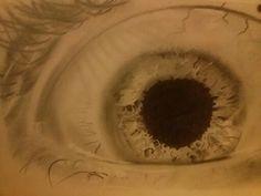 Eye - pencil on paper