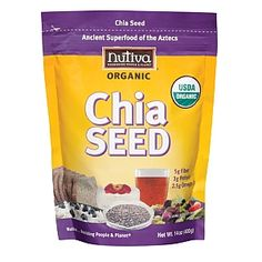 GNC Nutiva Chia Seed - 2 Tablespoons in my diet citrus green tea for my in-between snacks ~ It REALLY does take my cravings for sweets snacks away!!!
