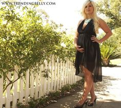"""Maternity friendly """"Empress"""" Dress $34.50.  The adjustable straps give it a perfect fit.  Perfect for special occasions."""