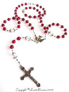 Confirmation rosary. Bought this for my daughter's Confirmation. Beautiful.