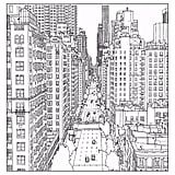Coloriage adulte new york avenue and east street in manhattan source steve mcdonald Printable Adult Coloring Pages, Animal Coloring Pages, Coloring Pages To Print, Coloring Book Pages, Coloring Pages For Kids, Free Coloring, Coloring Sheets, New York Drawing, City Drawing