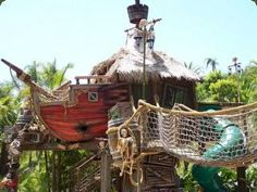 Tree Houses by Daniels Wood Land, Inc. - Pirate Ships