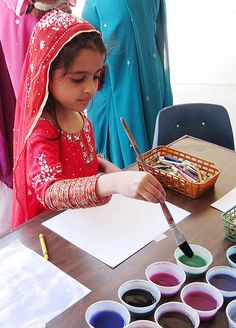 Pakistan Art Workshop and Exhibition, by Mariano Akerman, International School of Islamabad, 10.3.2011.