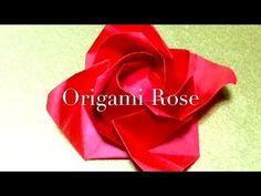 折り紙 バラ【福山ローズ】 解りやすい Origami Rose - YouTube
