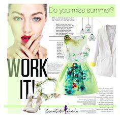 """beautifulhalo!"" by nina1596 ❤ liked on Polyvore featuring moda e beautifulhalo"
