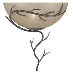 Kenroy Home Twigs Single Wall Sconce $70 | StylishHome