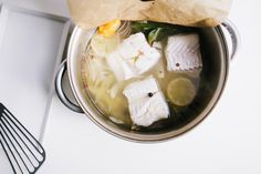 Quick and Easy: Learn how to poach fish like a pro.  #gf #recipes #fish