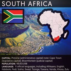 Feminist inspiration from @feministastic on Instagram:  #SouthAfrica officially the Republic of South Africa is the southernmost sovereign state in Africa. It is bounded on the south by 2798 kilometers of coastline of Southern Africa stretching along the South Atlantic and Indian Oceans on the north by the neighbouring countries of Namibia Botswana and Zimbabwe and on the east by Mozambique and Swaziland and surrounding the kingdom of Lesotho. South Africa is the 25th-largest country in the…