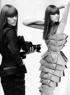 origami dress. *j* KATE B.