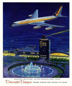 Convair 880 advertisement