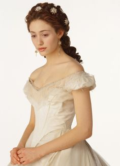 Emmy Rossum inspiration for Katherine Wallace in Yankee Heart