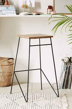 simple stool for the kitchen counter