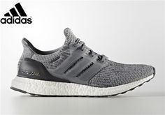 Men s Adidas Ultra Boost 3.0 Mystery Grey Running Shoes Mystery Grey Core  Black-Footwear f712cdcdf46