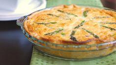 Mais um prato vegetariano... Mais uma deliciosa refeição! Experimente!!! #Quiche_de_Espargos #receitas #vegetariano #espargos #saudável #quiche