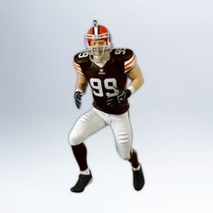 1 X Scott Fujita 2012 Hallmark Ornament *** Quickly view this special  product, click the image : Ornaments Home Decor