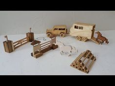 How to make a car from cardboard - YouTube
