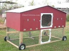 Image result for build a chicken coop on wheels