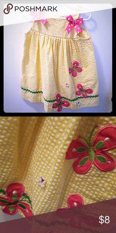 Yellow gingham sun dress Gently worn adorable sundress rare, too Dresses Casual