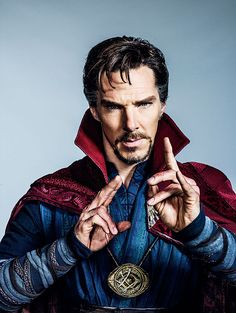 Marvel Releases New Official Photo of Benedict Cumberbatch as Doctor Strange