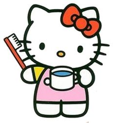 Sanrio Characters, Fictional Characters, Anime Rules, Hello Kitty Pictures, Good Morning, Clip Art, Wisdom Teeth, Kitty Wallpaper, Kitty Cats