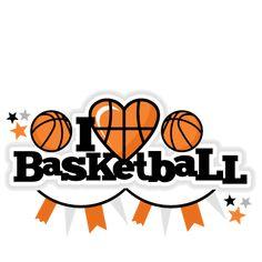 I Heart Basketball Title scrapbook cut file cute clipart files for silhouette cricut pazzles free svgs free svg cuts cute cut files