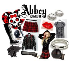 """Abbey Dawn by Avril Lavigne"" by luvsfasion101 on Polyvore"