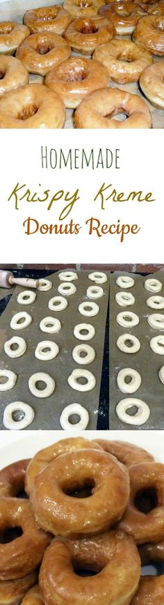 Homemade Krispy Kreme Donuts Recipe | Copy Cat Krispy Kreme - Wonderfully Chewy and Glazed with just the right amount of Icing, these Doughnuts are to die for! by Homemade Recipes at  http://homemaderecipes.com/homemade-krispy-kreme-donuts-recipe/
