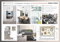office and store interior design by ColorOnLine Interior Design