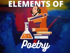 Teach your students the elements of POETRY Narrative Poetry, Lyric Poetry, Modern Poetry, Forms Of Poetry, Free Verse, Initial Sounds, Teaching Poetry, Alliteration, Simile