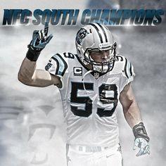 2013 NFC South Champs! Go Carolina Panthers