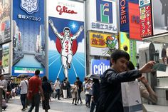 """""""Tokyo's too busy, but you can relax in Osaka."""""""