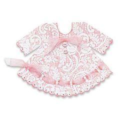 Baby girl dress handmade card