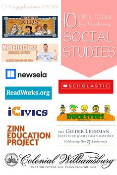 10 Free Tools for Teaching Social Studies - - Struggling to teach social studies in your primary classroom? Read more to learn about these 10 free social studies websites for teachers. Social Studies Projects, 3rd Grade Social Studies, Social Studies Curriculum, Social Studies Lesson Plans, Kindergarten Social Studies, Social Studies Notebook, Social Studies Classroom, Social Studies Activities, Teaching Social Studies