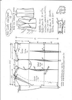 Fashion Sewing, Diy Fashion, Sewing Tutorials, Sewing Patterns, Dress Making Patterns, Pants Pattern, Embroidery Techniques, Natural Looks, Diy Clothes