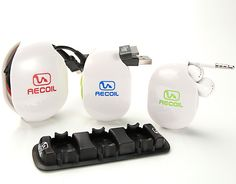 Recoil Winders - Cable Management System #apple