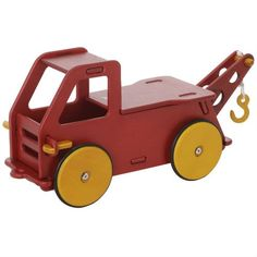 Moover Wooden Baby Truck (Red)