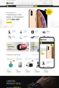 Expend WooCommerce theme is a modern and flexible WordPress with beautiful typography, subtle transitions, interesting use of navigation. Smart Televisions, Seo Basics, Seo Optimization, First Website, 4k Hd, Website Template, Ecommerce, Transportation
