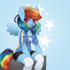 ThePonyArtCollection: Rainbow Dash