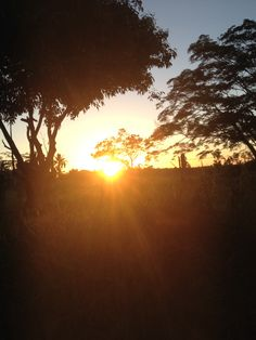Pôr do sol em Comuruxatiba, Prado/Ba
