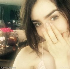 Touched: The actress posted this selfie on Friday as she thanked her fans and social media...