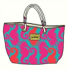 Pink and Preppy #lillyholiday