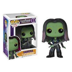 "Cutest. Gamora. Ever. ""Guardians of the Galaxy"" Gamora Pop! Vinyl Bobble Figure."