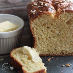 ein wunderbares Rezept für Brioche findet Ihr auf meinem Blog www.ge-sagt.de