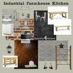 Beauty 4 Ashes: Industrial Farmhouse Kitchen
