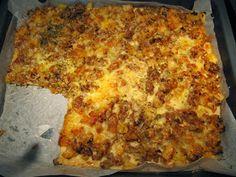 Huopatossun tehdas: Gluteeniton pizzapannari Nachos, Lasagna, Pizza, Gluten Free, Keto, Cheese, Ethnic Recipes, Food, Essen