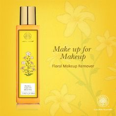 Leaving make-up on for too long can destroy your skin! Use our Floral Make Up Remover to protect your skin from getting damaged.
