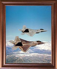 F-22 Raptor Military Jet Plane Aviation Mahogany Framed P... https://www.amazon.com/dp/B01J3NQREW/ref=cm_sw_r_pi_dp_x_FujbybYFAYX0N