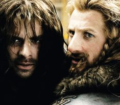 I see two sides of the story here. The look they give Thorin. It hurts so much to look at it. Thorin was practically their father, and you can only imagine how much he loved them, but he is so consumed with his quest that he doesn't care how much it hurts Kili to leave him behind. However, there is the other side that says he is simply loving Kili by making him stay behind, seeing how ill he is, and Fili is being a loyal brother and foolish youth.