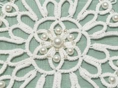Your place to buy and sell all things handmade Ice Crystals, Micro Macrame, Handmade Ornaments, New Shop, Fiber Art, Hand Sewing, Snowflakes, Tatting, Embellishments