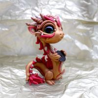 Coin Dragon by BittyBiteyOnes
